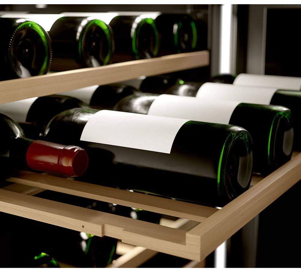 Imagem de adega climatizada Brastemp com destaque para as gavetas