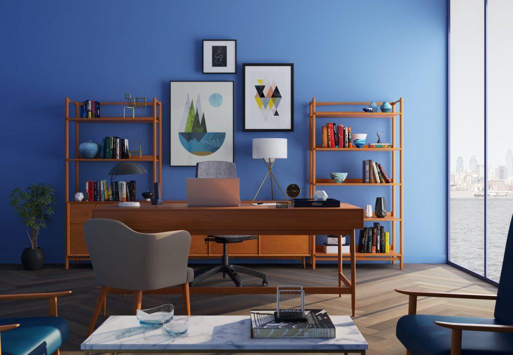 Imagem de um escritório.
