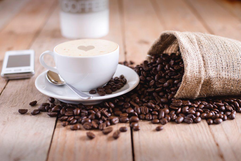 Imagem de uma xícara de café.