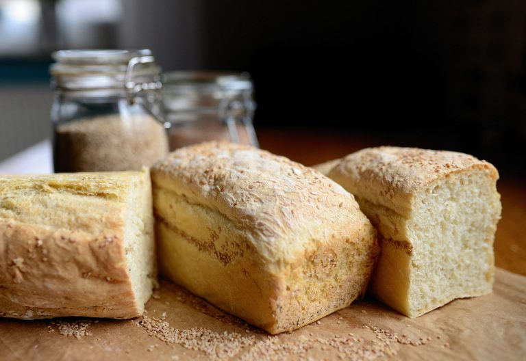 Imagem de pães caseiros