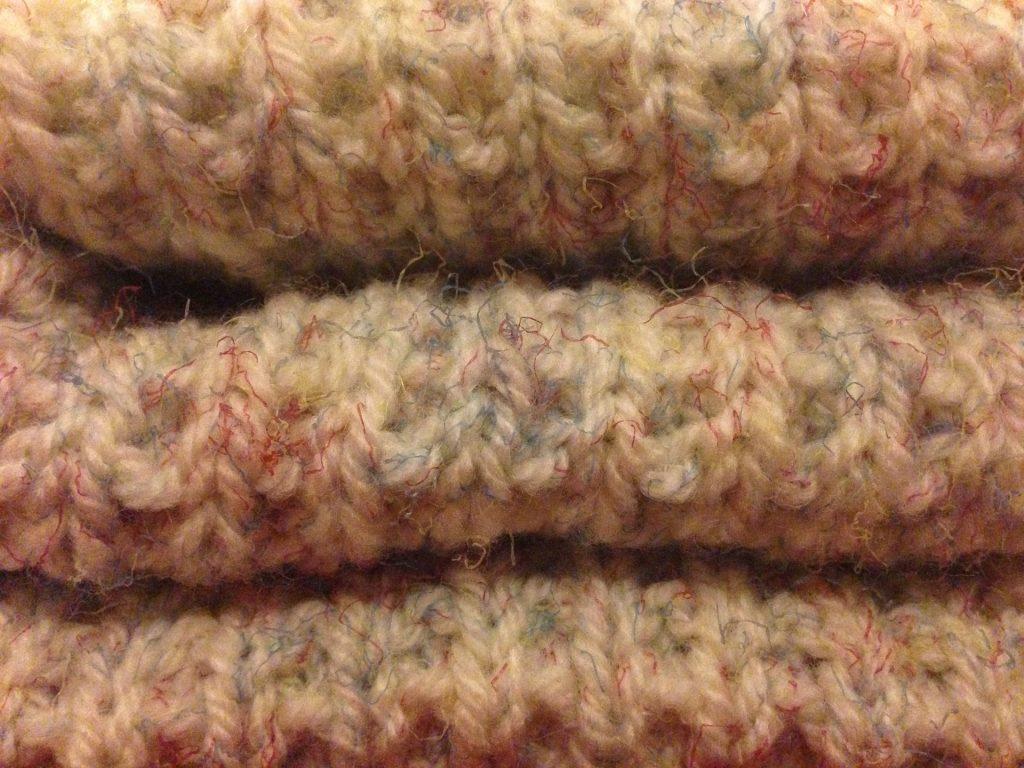 Imagem de manta térmica confeccionada em lã