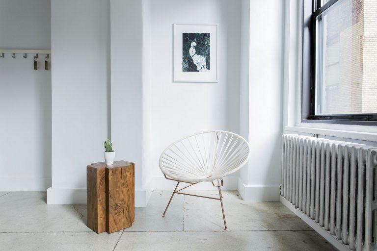 Imagem de uma cadeira Acapulco.
