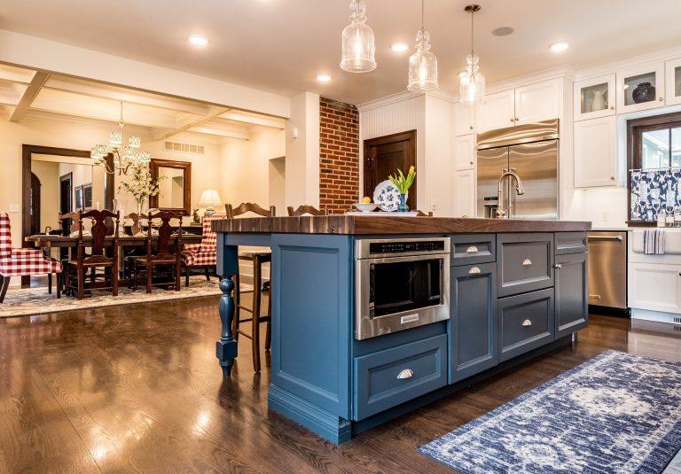Imagem de uma cozinha moderna.