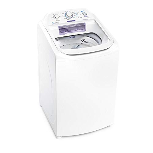 Máquina de Lavar 10,5kg Electrolux Branca Turbo Economia, Jet&Clean e Filtro Fiapos (LAC11) 127V