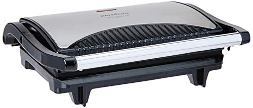 Sanduicheira e grill, Press inox, Preto, 220V, Britânia