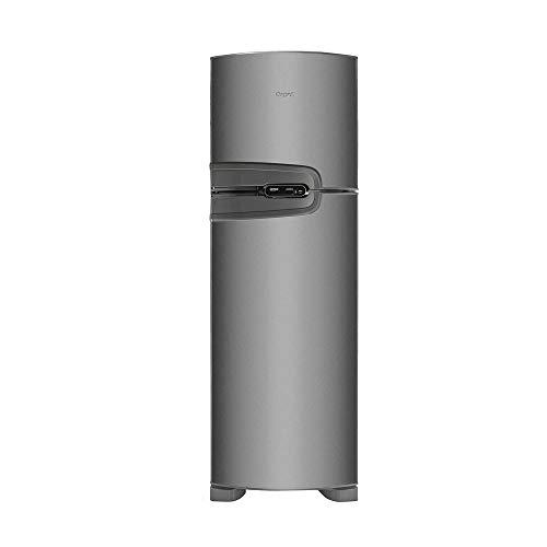 Geladeira Consul Frost Free Duplex 386 litros cor Inox com Prateleira Dobrável - CRM43NK 220V