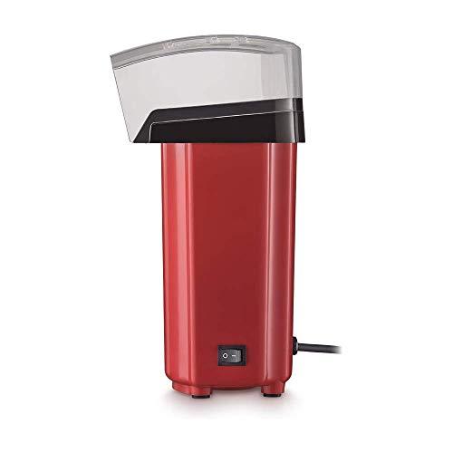 Pipoqueira Elétrica sem Óleo 127V com 900W Capacidade de 60g de Pipoca Vermelha/Preta Multilaser - CE041