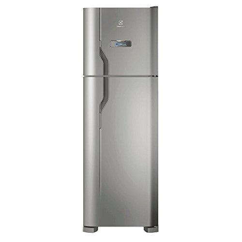 Geladeira/Refrigerador Frost Free Electrolux Inox 371L (DFX41) 127V