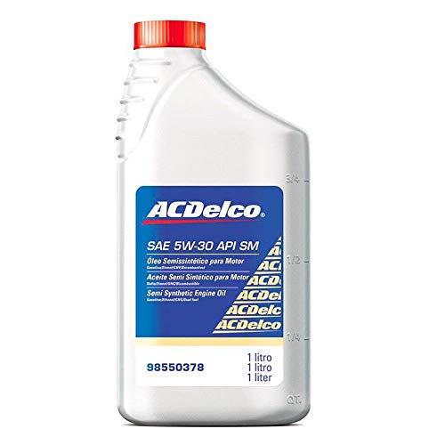 Óleo para Motor AC Delco 5W30 Semi Sintético 1 Litro