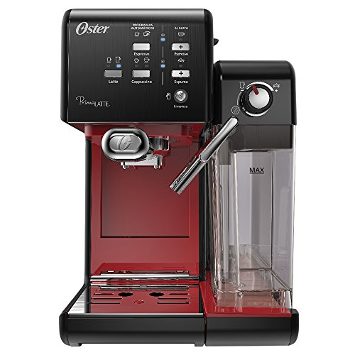 Cafeteira Expresso Prima Latte II, Vermelho, 220v, Oster