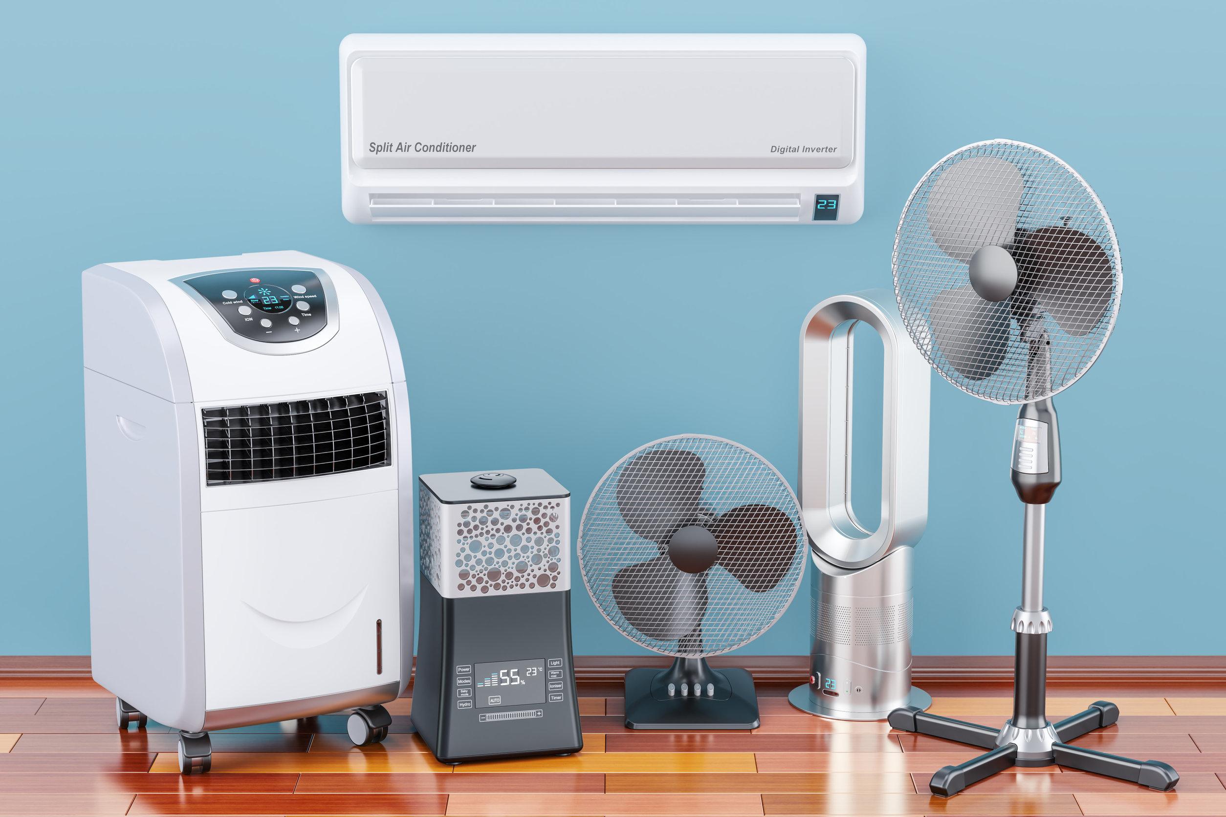tipos de ventilador