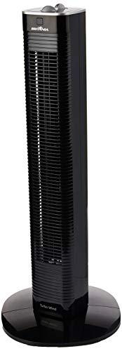 Ventilador, Torre turbo wind, Preto, 110V, Britânia